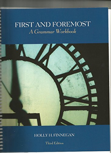 9781256820130: First and Foremost, a Grammer Workbook