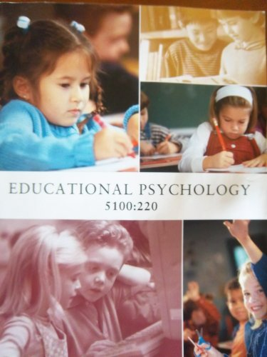 9781256825784: Educational Psychology 5100:220