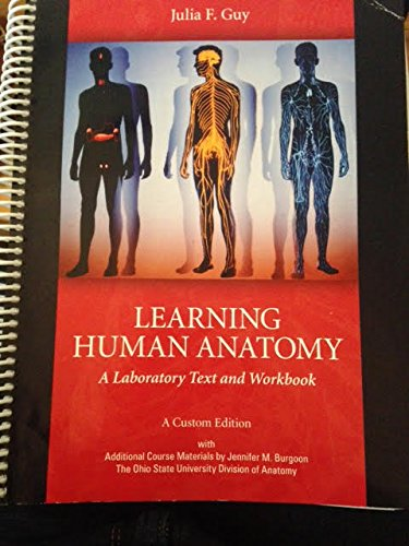9781256826316: Learning Human Anatomy- Ohio State University specific