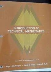 9781256830443: Introduction to Technical Mathematics Custom Ed for College of Southern Nevada