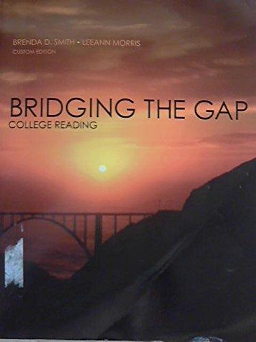 9781256830689: Bridging the Gap College Reading (Custom 10th Edition for William Paterson University)