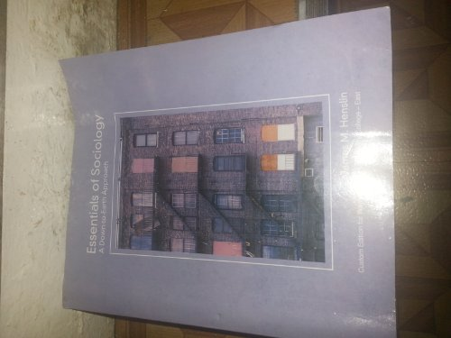 9781256832294: Essentials of Sociology, a Down to Earth Approach