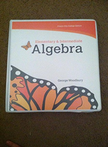 9781256832423: Algebra Made Easy: Intermediate and Elementary (Fresno City College) with Access Code