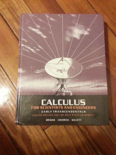 Title: CALCULUS F/SCIENTISTS+ENGINEER: Briggs/Cochran/Gillett