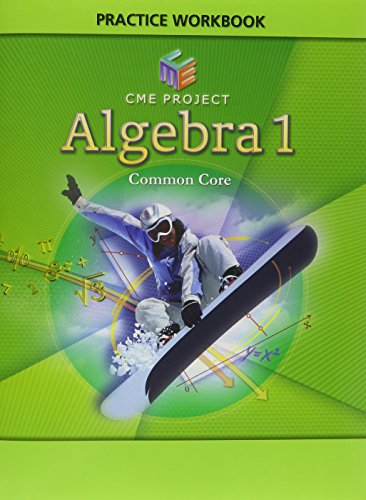 9781256833666: CME ALG 1 ADDITIONAL PRACTICE WORKBOOK
