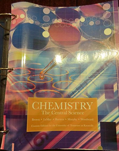 9781256838784: Chemistry The Central Science Custom Edition
