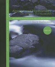 9781256840329: Algebra and Trigonometry with Modeling and Visualization, 3rd Edition