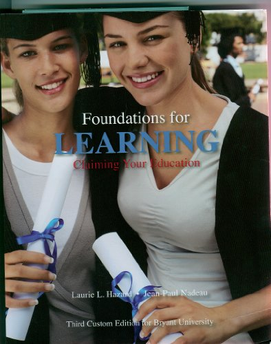 9781256841746: Foundations of Learning Claiming Your Education