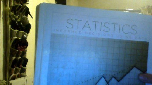 9781256842583: Statistics Informed Decisions Using Data (Custom Edition For Golden West College)