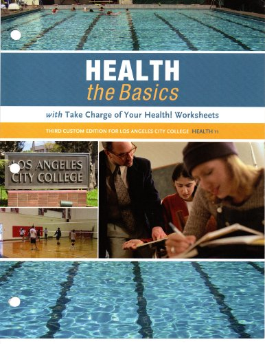 9781256842606: Health the Basics (with Take Change of Your Health!)