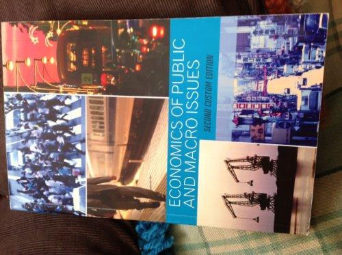 9781256848455: Economics of Public and Macro Issues