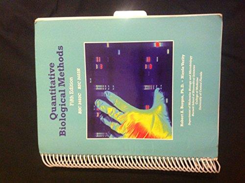 9781256850892: Quantitative Biological Methods
