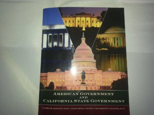 9781256855859: American Government and California State Governmen