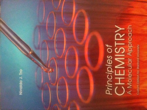 9781256858072: Principles of Chemistry: A Molecular Approach (Custom Edition for Stanford University)