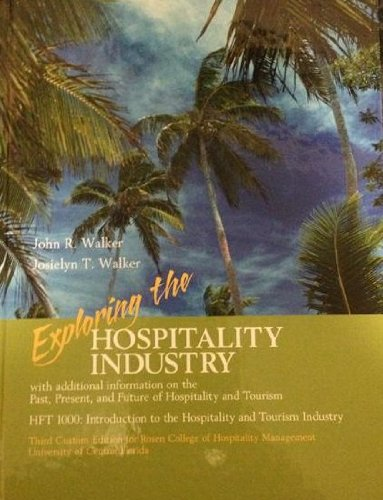 9781256858577: Exploring the Hospitality Industry