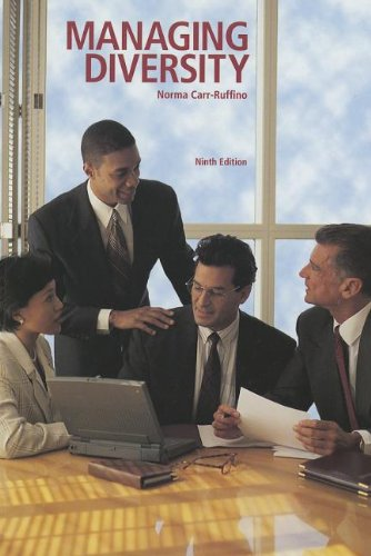 9781256860297: Managing Diversity (9th Edition)
