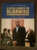 9781256861263: EXCELLENCE IN BUSINESS COMM. >CUSTOM<