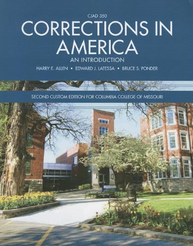 9781256876120: Corrections in America: An Introduction