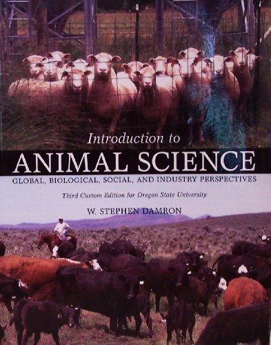 9781256876526: Introduction to Animal Science Third Custom Oregon State University