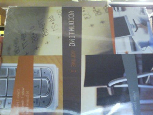 9781256916062: Accounting Volume 1