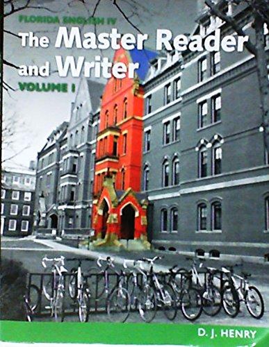 9781256924449: Master Reader and Writer Volume I: Florida English IV
