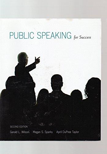 9781256926993: Public Speaking for Success