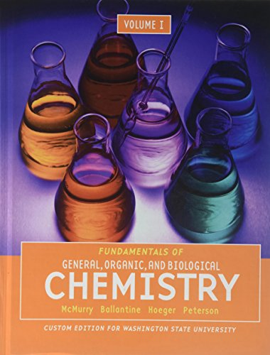 9781256936619: Fundamentals of General, Organic, and Biological, Chemistry Volume 1