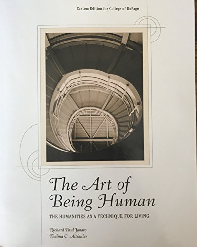 9781256937777: The Art of Being Human