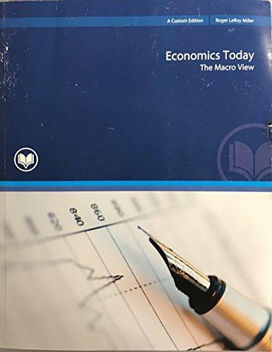 9781256945802: Economics Today the Macro View