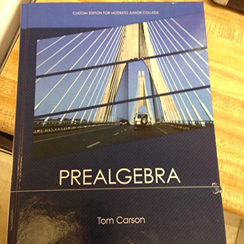 9780321756954 prealgebra 4th edition abebooks tom carson featured edition fandeluxe Image collections