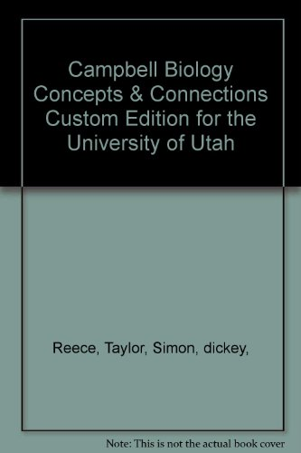 9781256956686: Campbell Biology Concepts & Connections Custom Edition for the University of Utah