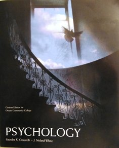 Psychology 3rd Edition - Pearson - Custom: Saundra K. Ciccarelli