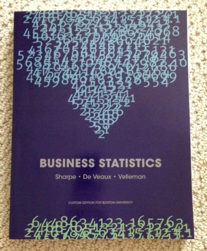 9781256958994: Business Statistics (Custom Edition for Boston University)