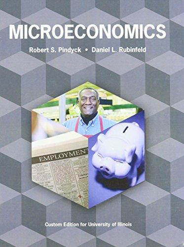 Microeconomics, University of Illinois: Pindyck/Rubinfeld