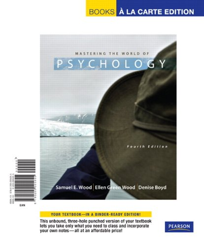 9781256972006: Mastering The World Of Psychology Includes Student Access Code (MASTERING WORLD PSYCH PKG CHANDLER-GILBERT CC)