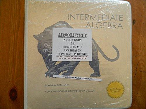 9781256987642: Intermediate Algebra (Sacramento City College Edition)