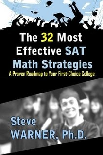 9781257030729: The 32 Most Effective SAT Math Strategies