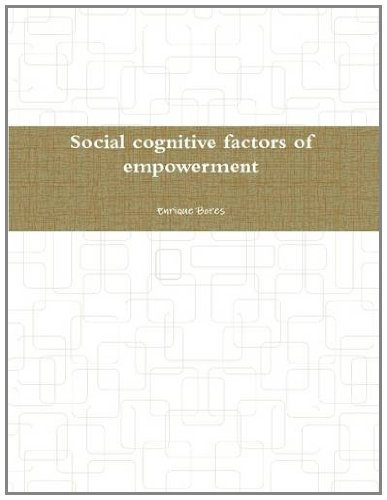 9781257059881: Social Cognitive Factors of Empowerment