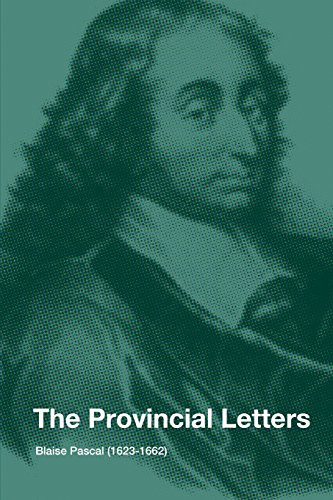 The Provincial Letters (9781257099184) by Blaise Pascal