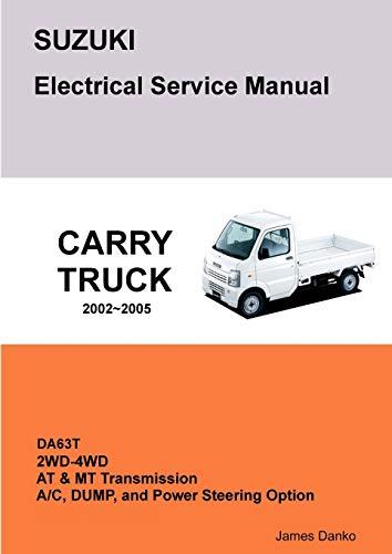 9781257745517: Suzuki Carry Da63T Electrical Service Manual & Diagrams