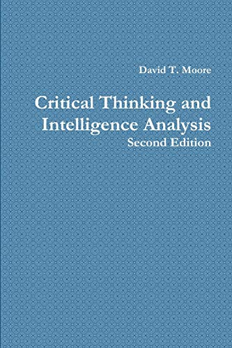 9781257781805: Critical Thinking and Intelligence Analysis