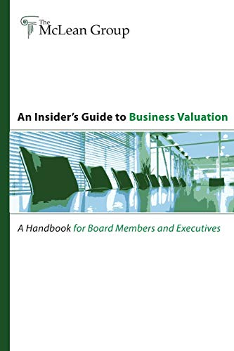 An Insider's Guide to Business Valuation (9781257800865) by Andrew Smith