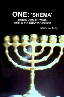 9781257821945: ONE: 'SHEMA' - Eternal Unity of YHWH, GOD of the SEED of Abraham