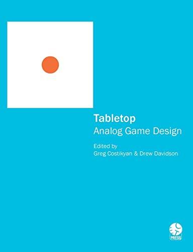 9781257870608: Tabletop: Analog Game Design