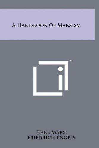 9781258001216: A Handbook Of Marxism
