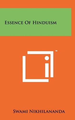 9781258003487: Essence Of Hinduism