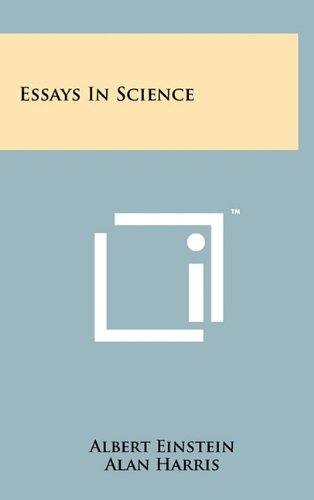 essays in science  abebooks  albert einstein   essays in science