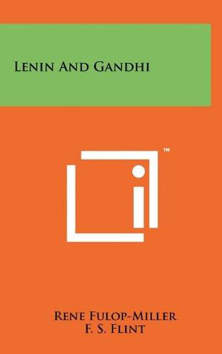 9781258005924: Lenin and Gandhi