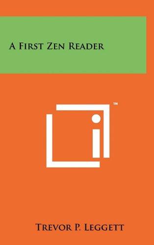 9781258015336: A First Zen Reader