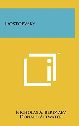 9781258023034: Dostoevsky